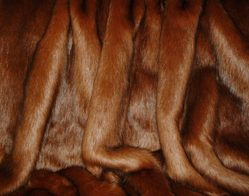Amber Faux Fur Throws and Bed Runners
