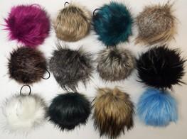 Faux Fur Bobbles/ Pom Pom's