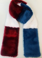 Faux Fur Team Scarves