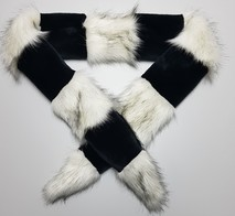 Faux Fur Cheshire Scarves