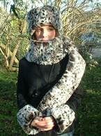 Wild Cat Faux Futs Hats, Scarves and accessories