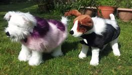 Faux Fur Designer Dog Coats