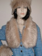 Fawn Musquash Faux Fur Headbands, Scarves and Accessories