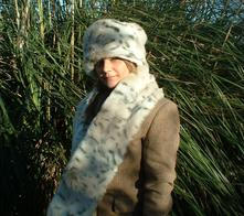 Snow Lynx Faux Fur Hats, Scarves and accessories