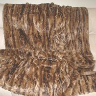 Vintage Gold Astra Faux Fur throws