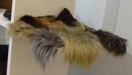 Single Faux Fur Swatch Samples