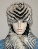 Sumatra Tiger Faux Fur Hats, Collars, Scarves and Accessories