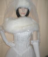 Faux Fur wedding Flings