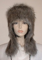 Timber Wolf Faux Fur Hats, Collars, Mittens and Accessories