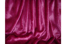 Hot Pink Mink Faux Fur Throws and Bed Runners