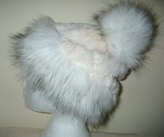 Faux Fur Bobble Hats