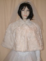 Faux Fur Wedding Capes