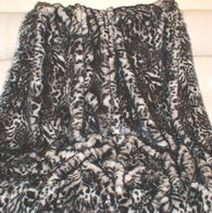 Panther Faux Fur Throws and Bed Runners