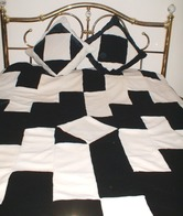 Harlequin Faux Fur Patchwork Throws