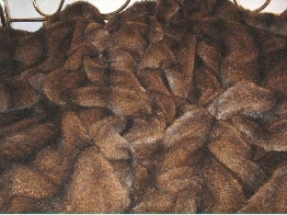 Tissavel Sable Faux Fur Throws