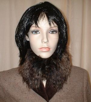 Kodiac Bear Faux Fur collar