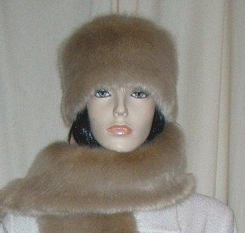 Honey Blonde Faux Fur Hat