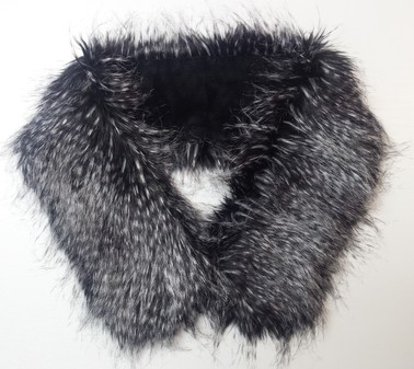 Porcupine Faux Fur Neck Scarf