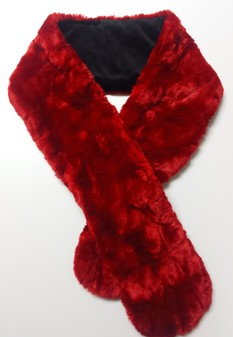 SALE Scarlet Crush Pull Through Scarf