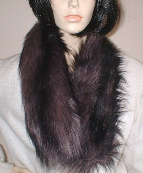 SALE Misty Faux Fur Neck Scarf