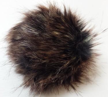 Kodiac Faux Fur Pom Pom