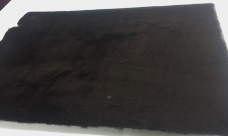 Chocolate Moleskin Faux Fur SECONDS Per Meter