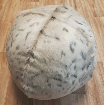 Snow Lynx Faux Fur Ball