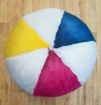 Faux Fur Beach Ball