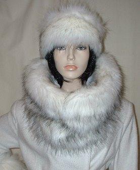 Alaska Faux Fur Cowl/Neck Warmer