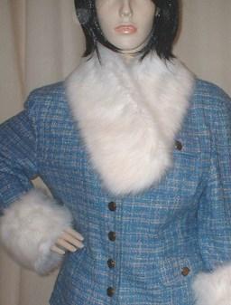 Snow White Faux Fur Neck Scarf