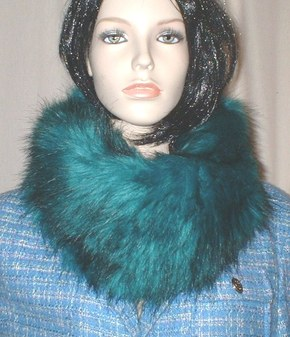 Jade Faux Fur Cowl/Neck Warmer