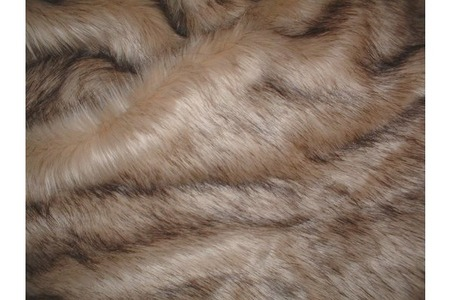 Fawn Musquash Faux Fur SECONDS Per Meter