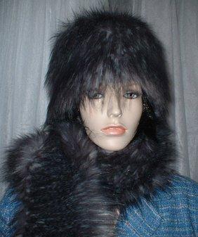 Siberian Wolf Faux Fur Hat