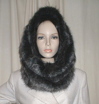 Wolfhound Faux Fur Cowl/ Neck Warmer
