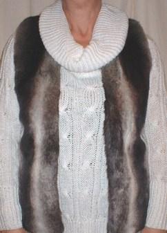 Chinchilla Faux Fur Gilet
