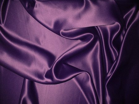 Purple Duchess Satin Swatch