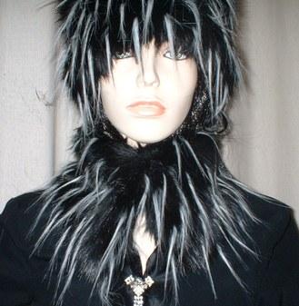 Porcupine Faux Fur Collar