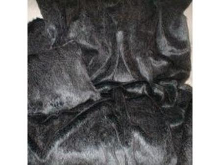 Wolfhound Faux Fur Round Cushion