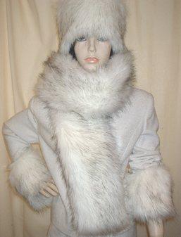 Alaska Faux Fur Scarf