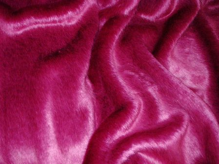 Hot Pink Mink Faux Swatch