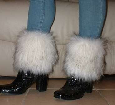 Alaska Faux Fur Boot Toppers