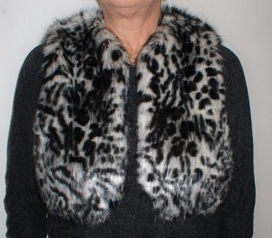 Panther Faux Fur Bolero