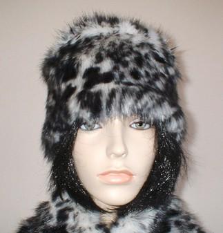 Panther Faux Fur Hat