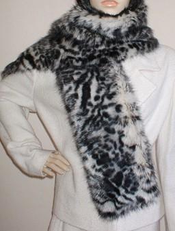 Panther Faux Fur Scarf