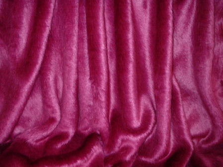 Hot Pink Baby Toddler Faux Fur Blanket