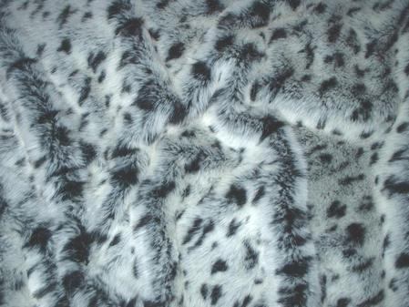 Winter Leopard Faux Fur by Tissavel Swatch