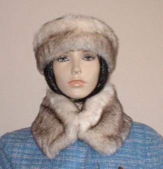 Polar Fox Faux Fur Collar