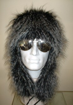 Tissavel Porcupine Faux Fur Trapper Hat