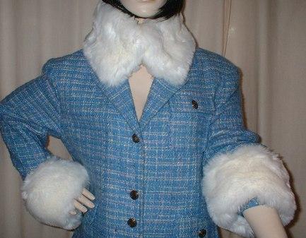 Marilyn Faux Fur Collar