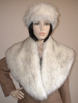 Alaska Faux Fur Shawl Collar
